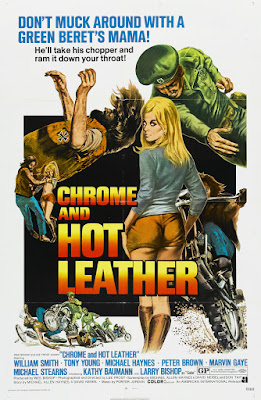 Chrome and Hot Leather (1971, USA) movie poster