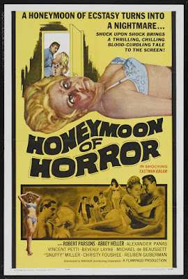 Honeymoon of Horror (1964, USA) movie poster