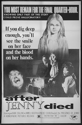 After Jenny Died (aka Revenge) (1971, UK) movie poster
