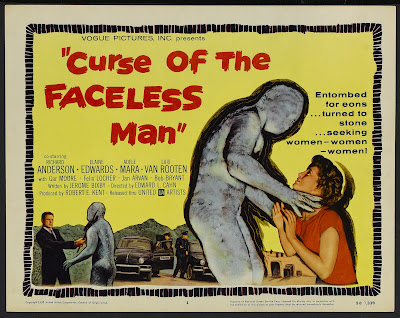 Curse of the Faceless Man (1958, USA) movie poster