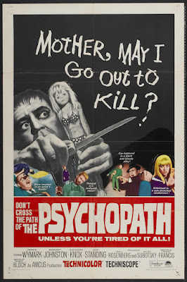 The Psychopath (1966, UK) movie poster