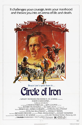 Circle of Iron (1978, USA) movie poster