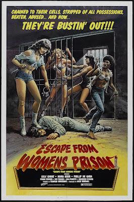 Escape from Women's Prison (Le Evase - Storie di sesso e di violenze, aka Jailbirds) (1978, Italy) movie poster