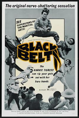 Black Belt (Hei dai chou qiu) (1973, Hong Kong) movie poster