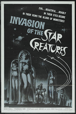 Invasion of the Star Creatures (1963, USA) movie poster