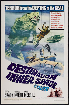 Destination Inner Space (aka Terror of the Deep) (1966, USA) movie poster