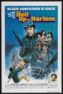 Hell Up in Harlem (1973, USA) movie poster