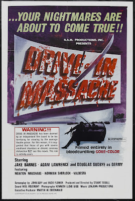 Drive in Massacre (1976, USA) movie poster