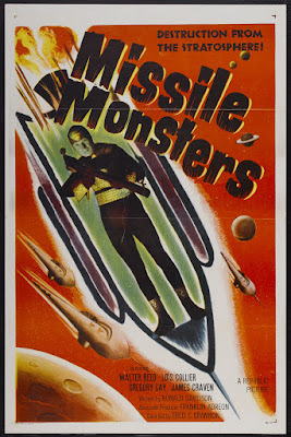 Missile Monsters (1958, USA) movie poster
