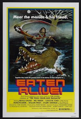 Eaten Alive (aka Death Trap, aka Horror Hotel, aka Legend of the Bayou) (1977, USA) movie poster