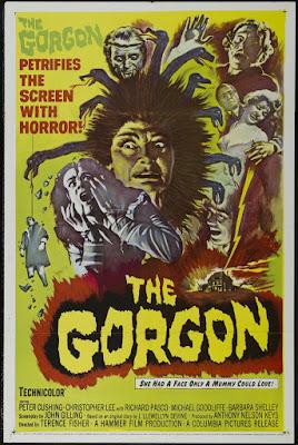 The Gorgon (1964, UK) movie poster