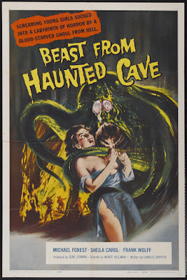 Beast from Haunted Cave (1959, USA) movie poster