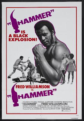Hammer (1972, USA) movie poster