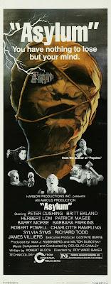 Asylum (1972, UK) movie poster