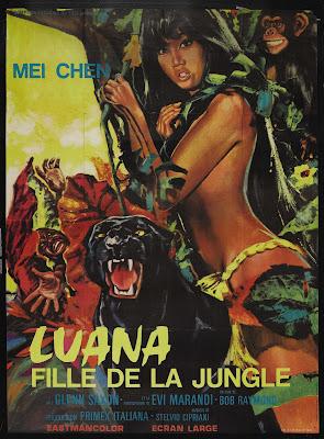 Luana (Luana la figlia delle foresta vergine) (1968, Italy / Germany) movie poster