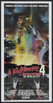 A Nightmare on Elm Street 4: The Dream Master (1988, USA) movie poster