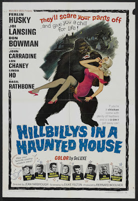 Hillbillys in a Haunted House (1967, USA) movie poster