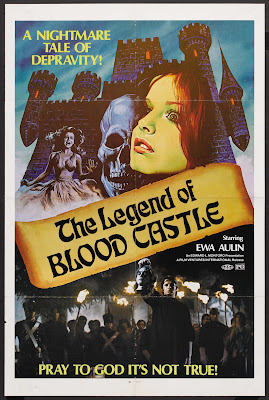 The Female Butcher (Ceremonia sangrienta / Bloody Ceremony, aka The Bloody Countess, aka The Legend of Blood Castle) (1973, Spain / Italy) movie poster