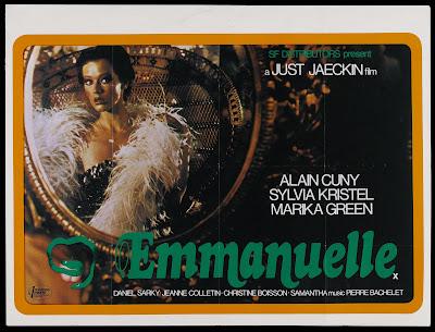 Emmanuelle (1974, France) movie poster