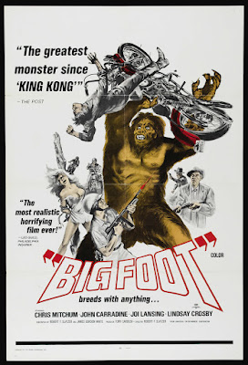 Bigfoot (1970, USA) movie poster