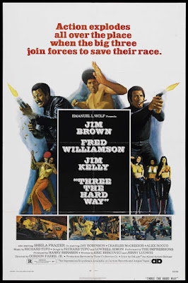 Three the Hard Way (1974, USA) movie poster