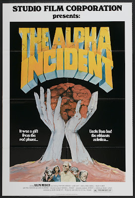 The Alpha Incident (1978, USA) movie poster