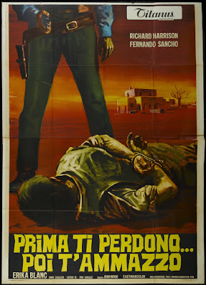 Stagecoach of the Condemned (Prima ti perdono... poi t'ammazzo / I'll Forgive You, Before I Kill You) (1970, Italy / Spain) movie poster