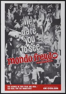 Mondo Freudo (1966, USA) movie poster