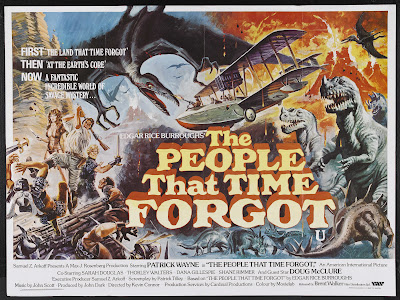 The People That Time Forgot (1977, UK) movie poster