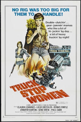 Truck Stop Women (1974, USA) movie poster