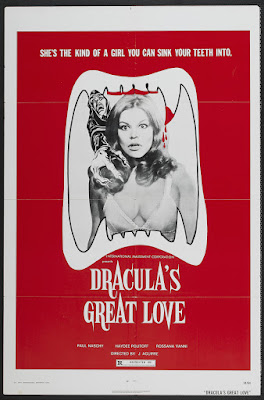 Count Dracula's Great Love (El Gran amor del conde Drácula, aka Dracula's Great Love) (1972, Spain) movie poster