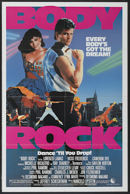 Body Rock (1984, USA) movie poster