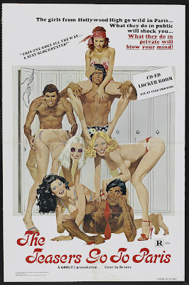 The Teasers Go to Paris (1978, USA) movie poster