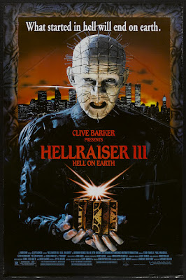 Hellraiser III: Hell on Earth (1992, USA) movie poster