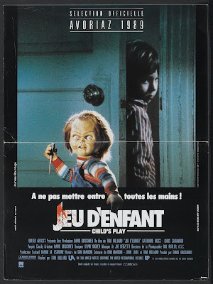 Child's Play (1988, USA) movie poster