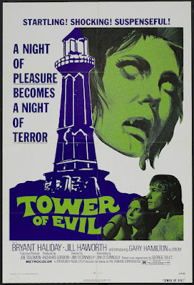 Tower of Evil (1972, UK / USA) movie poster