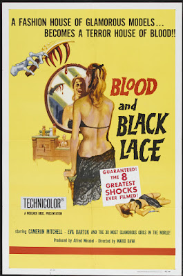 Blood and Black Lace (Sei donne per l'assassino / Six Women for the Murderer) (1964, Italy / France / Germany) movie poster