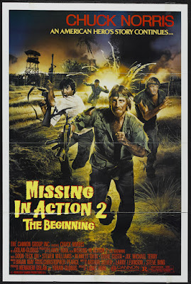 Missing in Action 2: The Beginning (1985, USA) movie poster