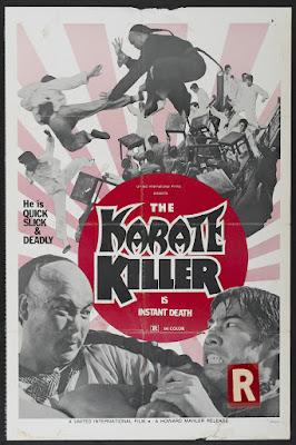 The Karate Killer (Guai ke / Stranger from Canton) (1973, Hong Kong) movie poster