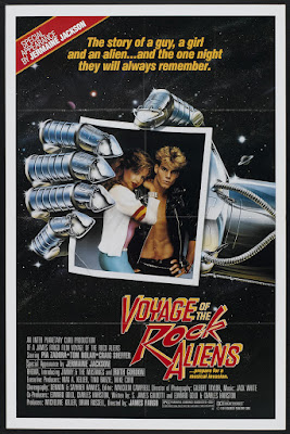 Voyage of the Rock Aliens (1987, USA) movie poster