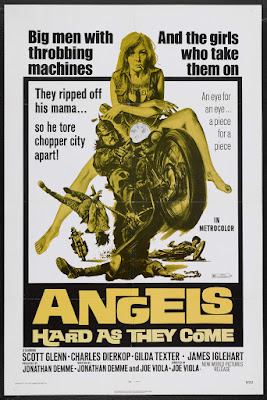 Angels Hard as They Come (1971, USA) movie poster