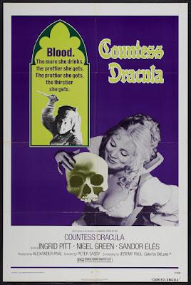 Countess Dracula (1971, UK) movie poster