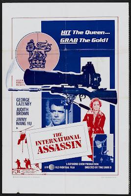 The International Assassin (E tan qun ying hui / A Queen's Ransom) (1976, Hong Kong / UK) movie poster