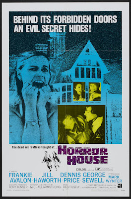 Horror House (The Haunted House of Horror) (1969, UK) movie poster