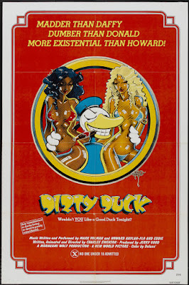 Dirty Duck (aka Down and Dirty Duck) (1974, USA) movie poster