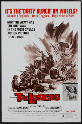 The Losers (aka Nam's Angels) (1970, USA) movie poster