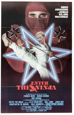 Enter the Ninja (1981, USA) movie poster