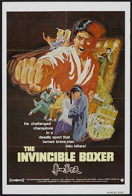 5 Fingers of Death (Tian xia di yi quan, aka Five Fingers of Death, aka King Boxer, aka The Invincible Boxer) (1972, Hong Kong) movie poster