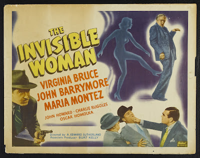 The Invisible Woman (1940, USA) movie poster