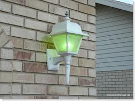 Green Outdoor Lights